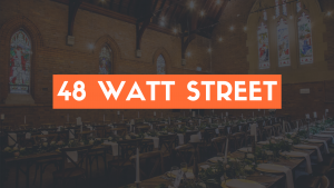 48 Watt Street Wedding Reviews